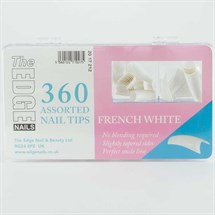 The Edge French White Tips Assorted - 360 Assorted