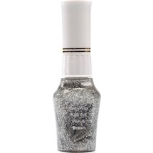 The Edge Two Way Nail Art Brush For Striping/Dotting - Silver