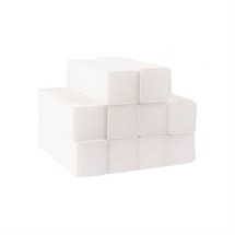 The Edge White 4-Way Sanding Block - Grit 100/100 10pk