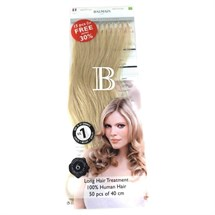 Balmain Pre Bonded Fill-In Human Hair Extension 40cm 50pcs - 10A