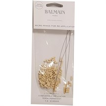 Balmain 100 Beige Micro Rings with 2 Pullers