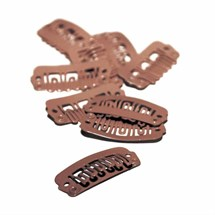 Balmain Extension Clips 10pk - Brown