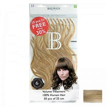 Balmain Fill-In 100% Human Hair Extensions (50pcs) 25cm - Level 10