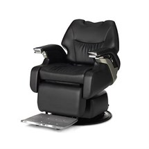 Takara Belmont Legend Barber Chair - Full Flat Model