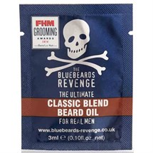 The Bluebeards Revenge Classic Blend Beard Oil Sachet