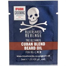 The Bluebeards Revenge Cuban Blend Beard Oil Sachet