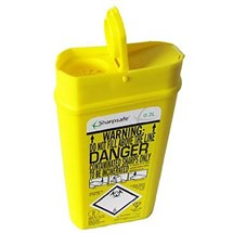 Sterex Sharps Box 0.2 Litre