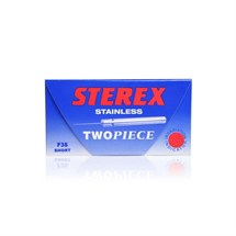 Sterex Two Piece Stainless Needles (Pack of 50)