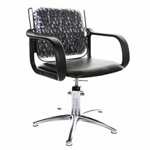 Crewe Orlando Chair Back Cover - Clear 24 inch