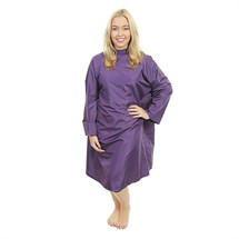 Crewe Orlando Florence Sleeved Gown - Purple