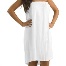 Gaddum & Gaddum The Terry Shower Wrap Towel - White