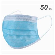 Disposable 3 Ply Face Masks (Pack of 50)