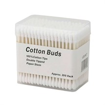 Deo Paper Stem Cotton Buds - 200pk