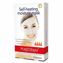 Amirose Purederm Self Heating Moisture Face Mask (3 Masks)