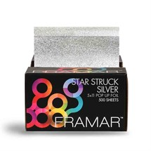 Framar 5x11 Silver Star Struck Pop Up Foil - 500 Sheets