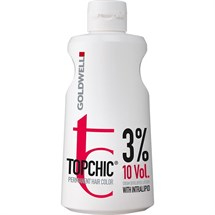 Goldwell Topchic Cream Developer Lotion 1 Litre - 3%