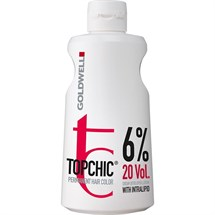Goldwell Topchic Cream Developer Lotion 1 Litre - 6%