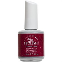 Ibd Just Gel Polish 14ml - Cosmic Red