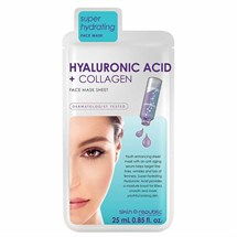 Skin Republic Hyaluronic Acid & Collagen Face Sheet Mask