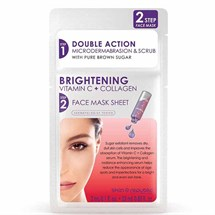 Skin Republic Brightening Vitamin C & Collagen Face Sheet Mask - 2 Step