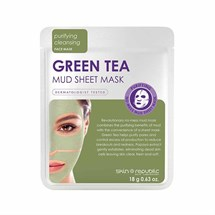 Skin Republic Green Tea Mud Sheet Mask