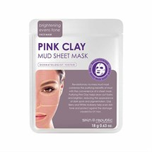 Skin Republic Pink Clay Mud Sheet Mask