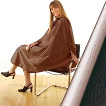 Hair Tools Satin Cape - Black
