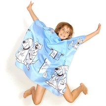 Hair Tools Childrens Doggy Gown - Blue