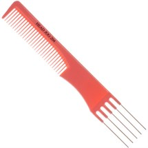 Head Jog 204 Metal Pin Comb Pink