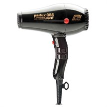 Parlux 385 Powerlight Ceramic Ionic Dryer - Black