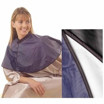 Hair Tools PVC Shoulder Cape - Black