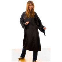Hair Tools Kimono Gown With Chair Protector - Black