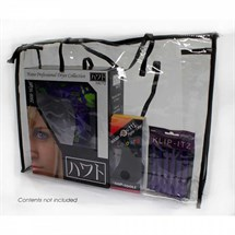 Large Clear Plastic Pvc Bag With Zip