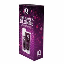 IQ The Name's Blonde Christmas Gift Set