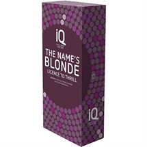IQ The Name's Blonde Christmas Gift Set (2020)