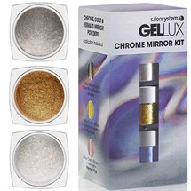 Salon System Gellux Chrome Mirror Powder Kit