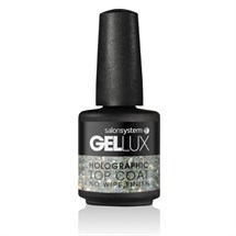 Salon System Gellux 15ml Holographic Top Coat