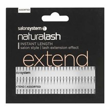 Salon System Naturalash Individual Lashes Extend - Assorted (Extend)