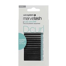 Salon System Marvelash Lash Extensions D Curl 0.20 (Volume) - Assorted (9,11,13, 15mm)