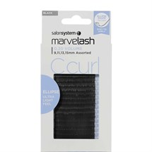Salon System Marvelash Lash Extensions C Curl 0.20 (Volume) Ellipse - Assorted (9,11,13,15mm)