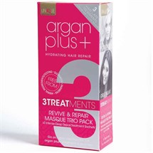 Argan Plus+ Masque Sachet 3 Pack