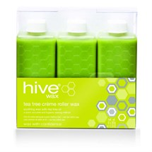 Hive Roller Depilatory Tea Tree Crème Wax Cartridges 6 x 80g