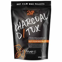 Hive Charcoal D/Tox Hot Film Wax Pellets 500g