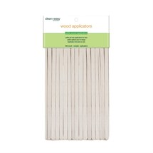 Clean+Easy Wood Applicator Spatulas (100) - Petite