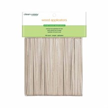 Clean+Easy Wood Applicator Spatulas (100) - Small