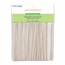 Clean+Easy Wood Applicator Spatulas (100) - Large