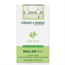 Clean+Easy Tea Tree Cream Wax Refill x3 - Large