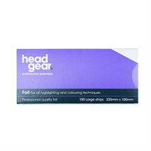 Head-Gear Large Foil Strips - Pk100