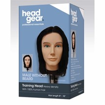 Head-Gear Mens Training Head with No Beard
