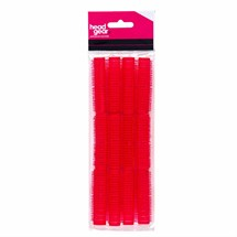 Head-Gear Velcro Rollers - Red Pk12 (13mm)